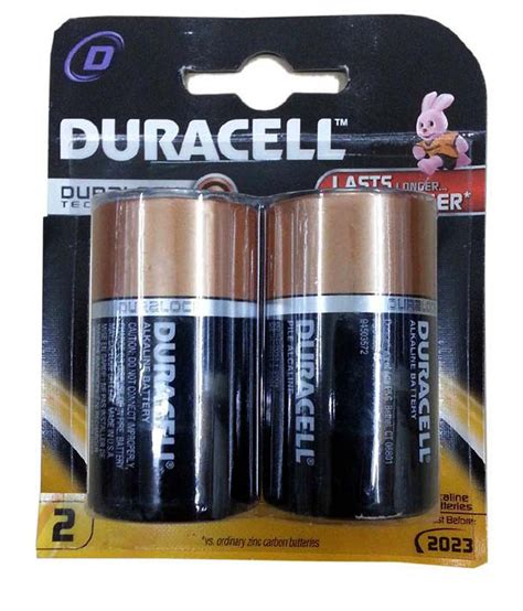 Duracell D Size Batteries Pack Of 2 Price in India- Buy ...