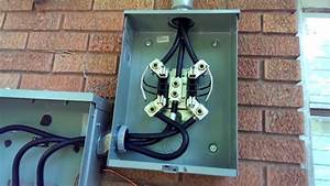 Electrical Meter Base And Panel Upgrade