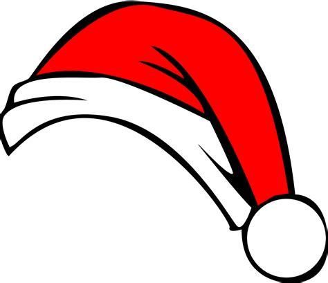 Hat Clip Santa Hat Clip