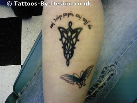 elven  tattoo
