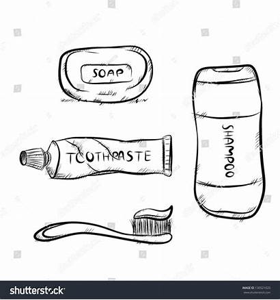Shampoo Toothpaste Bathroom Toothbrush Soap Equipment There