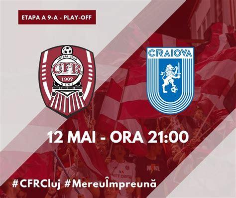 The team scores a lot on average per game. CFR 1907 CLUJ - Universitatea Craiova