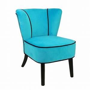 Fauteuil Crapaud Bleu Canard : fauteuil bleu turquoise maison design ~ Teatrodelosmanantiales.com Idées de Décoration
