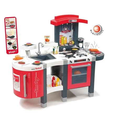 smoby cuisine smoby cuisine chef mini tefal achat vente