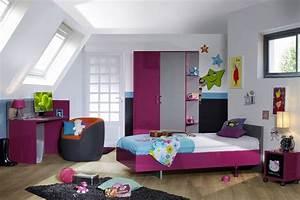 Couche Pour Ado Fille : chambre enfant moderne composition chambre enfant moderne ~ Preciouscoupons.com Idées de Décoration