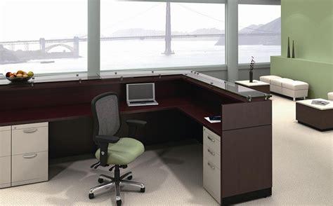 ergonomic reception area interior design  professional