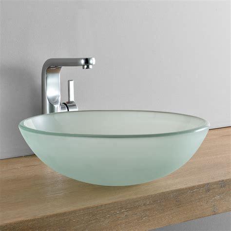 glas waschbecken rund neu haus 174 waschbecken rund waschschale 216 42cm milch glas aufsatzbecken wc bad eur 39 99