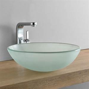 Waschbecken Glas Rund : waschbecken rund waschschale 42cm milch glas aufsatzbecken wc bad ebay ~ Markanthonyermac.com Haus und Dekorationen