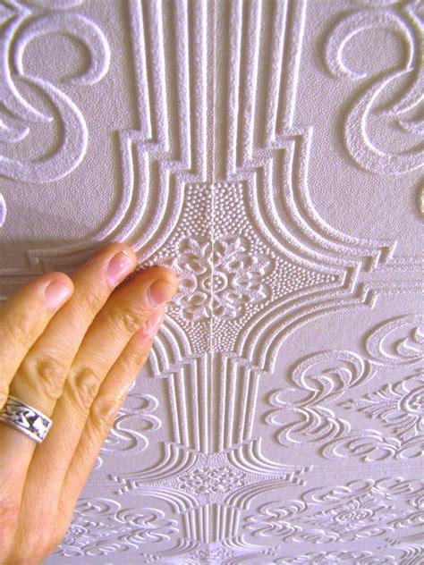 hang wallpaper   ceiling  tos diy