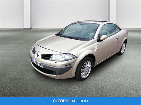 renault megane ii cc m 201 gane ii cc 1 6 16v authentique proactive a marseille alcopa auction