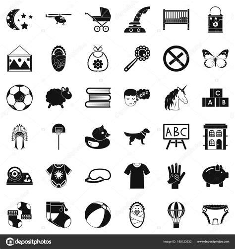 kleine symbole kleine symbole eingestellt einfachen stil stockvektor 169 ylivdesign 185123532