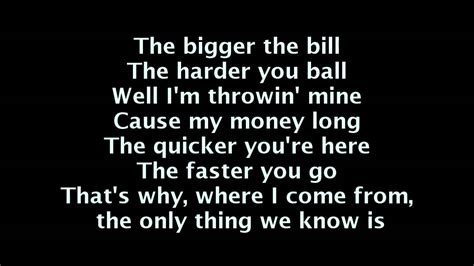 wiz khalifa work hard play hard lyrics  screen youtube
