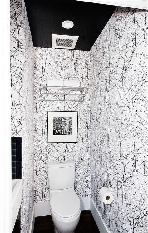 ideas de papel pintado  la pared del aseo decorar hogar