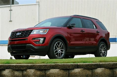 ford explorer hybrid review     suv