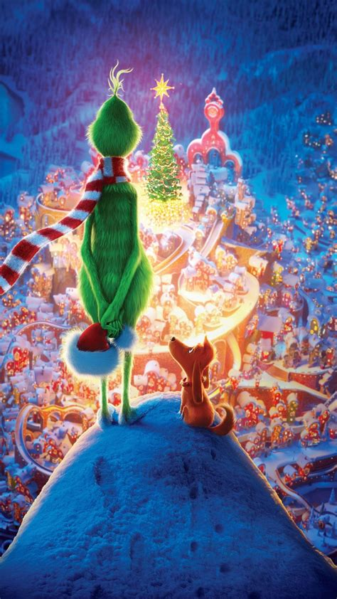The Grinch 2018 Movie Christmas 1080x1920 Wallpaper