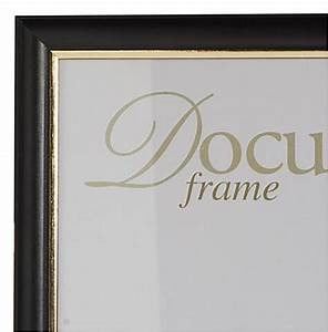 85 x 11 document frames black for Frame document