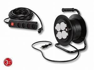 Enrouleur De Cable Electrique : rallonge multiprise enrouleur de c ble lectrique lidl ~ Edinachiropracticcenter.com Idées de Décoration