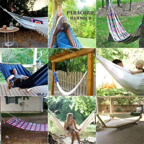 Hammock Posts Diy by 18 Diy Hammocks And Hammock Stands For Total Relaxation