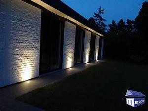 eclairage maison exterieur s39eclairer efficacement avec With eclairage exterieur facade maison