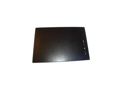 sous mains bureau sous de bureau en cuir noir