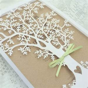 seasons travel wedding stationerywoodland laser by jo With laser cut wedding invitations tree uk