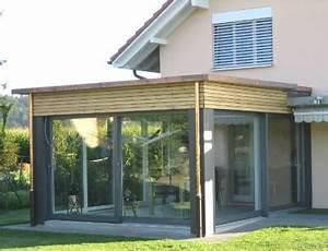 anbau wintergarten anbau wintergarten offerten24 With garten planen mit windschutz glas balkon kosten