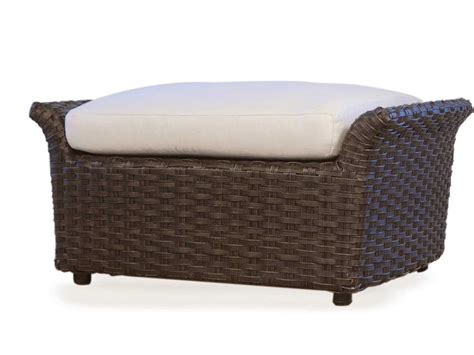 outdoor glider with ottoman lloyd flanders flair replacement cushion for ottoman
