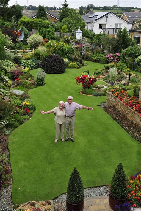 lawn to garden is this britain s most immaculate garden pensioner spends