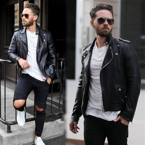 How to wear a leather jacket menu0026#39;s style guide