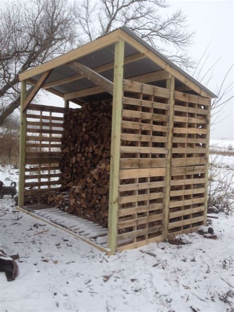 wood shed   pallets   wood shed shed