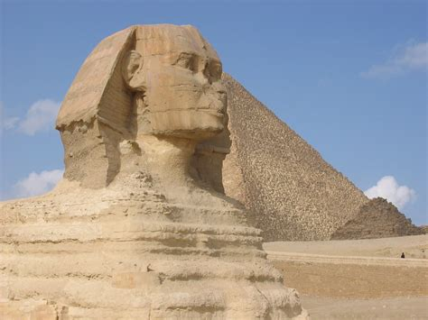 The Great Sphinx At Giza, Egipt