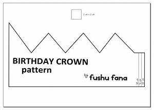 25 best ideas about crown pattern on pinterest for Happy birthday crown template