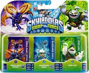 Skylanders Swap Force Character Triple Pack Zoo Lou