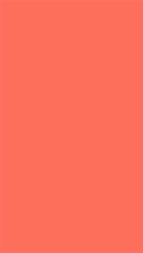 640x1136 bittersweet solid color background iphone