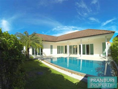 Hua Na Villas  Brand New Modern Pool Villas In Excellent