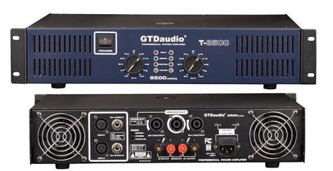 2 Channel 8500 Watts Professional Power Amplifier Amp