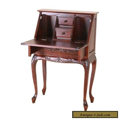 solid wood desk for sale victorian style fold out secretary desk solid hand carved