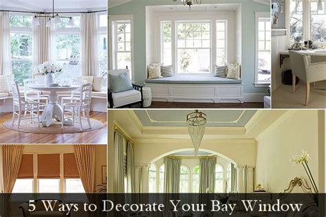ways  decorate  bay window