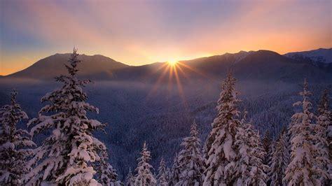 sunset sunrise sky winter beautiful high definiton