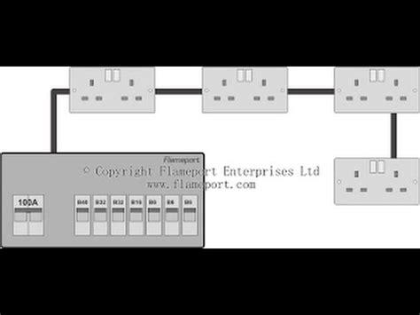 radial wiring diagram youtube