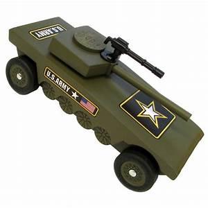 Army Tank Pinewood Derby Kit - Derby Monkey