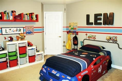 Car & Truck Theme Toddler Room Ideas