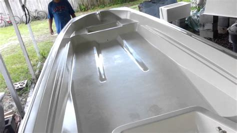 Applying Bottom Paint New Boat by Boston Whaler 13 Rebuild Rustoleum Topside Paint