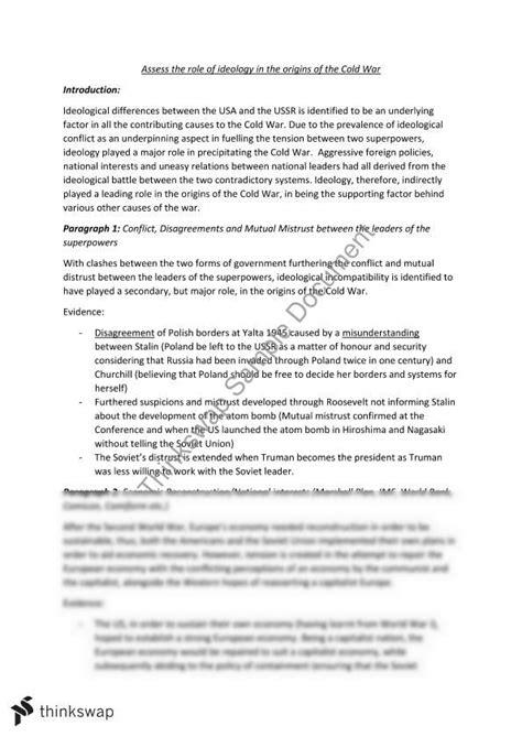 cold war essay team member skills resume biography