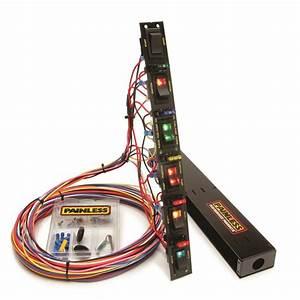 Painless Wiring Multi Purpose Switch Panel Kit 50506