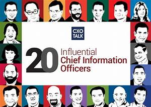 20 Influential Chief Information Officers