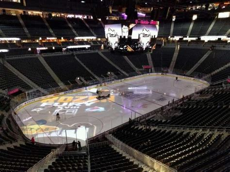 mobile arena section  home  vegas golden knights