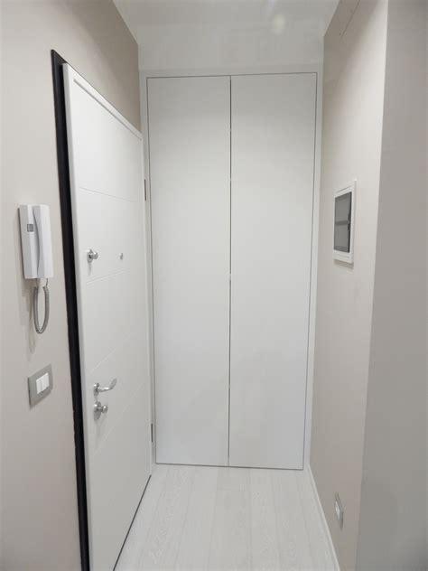 armadio a muro ingresso armadio a muro su misura laccato realizzazione