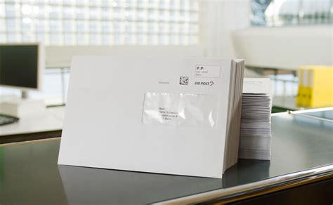 indirizzamento corretto degli invii la posta