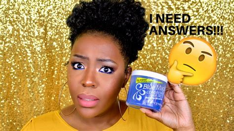 Hair Grease For Natural Hair? Blue Magic-does It Work